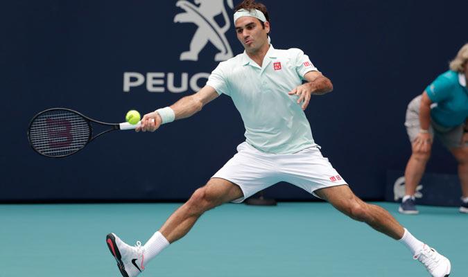 Federer impuso su calidad en todo el encuentro/ Foto AP
