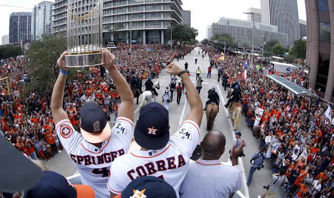 Springer y Correa estuvieron a la cabeza / AP