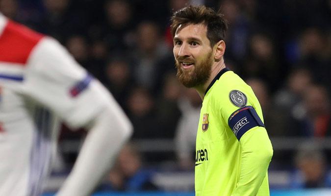 Messi no tuvo una noche inspirada/ Foto AP