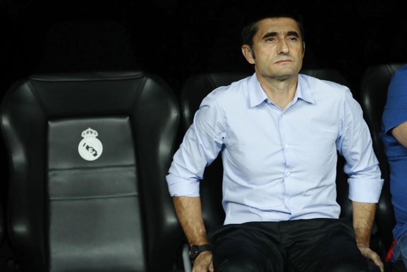 Ernesto Valverde sufrió una dura derrota  /Foto EFE