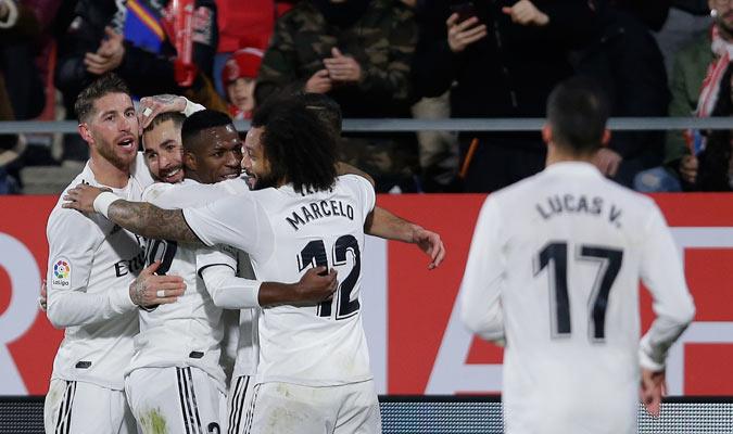 El Real Madrid volvió a ofrecer una buena imagen/ Foto AP