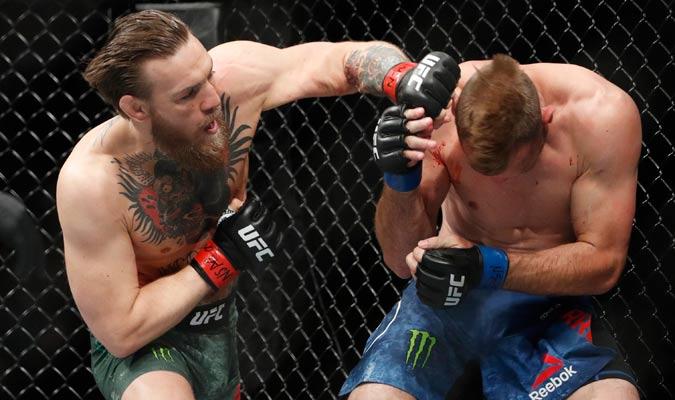 McGregor no tuvo piedad desde el inicio/ Foto AP