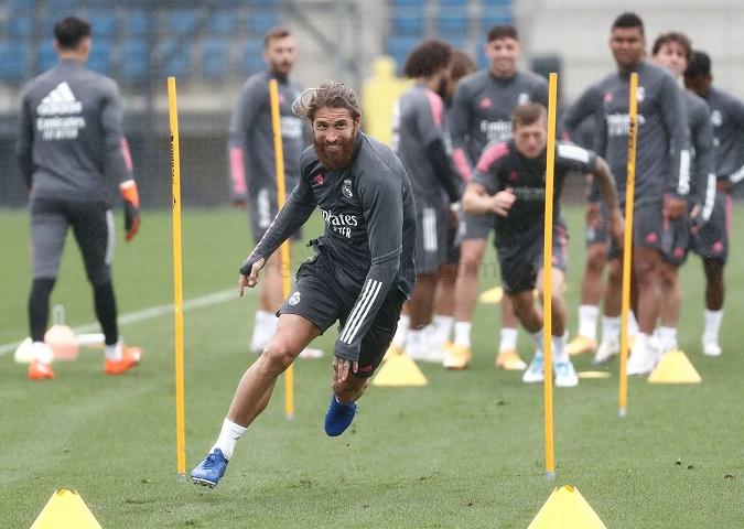 Sergio Ramos, como capitán, dio el ejemplo