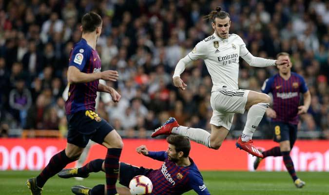 Bale casi no se vio en el encuentro/ Foto AP