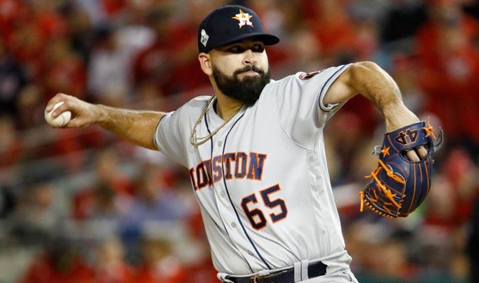Urquidy tuvo la pelota desde el comienzo por parte de los Astros/ Foto AP