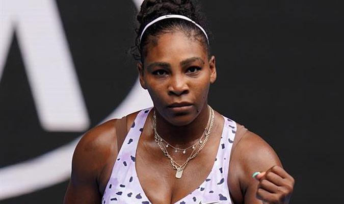 Serena Williams derrotó a la rusa por 6-0 y 6-3/ Foto EFE