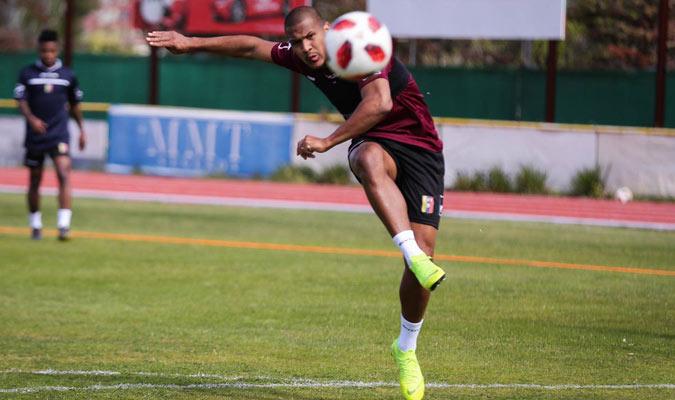 Salomón Rondón llega en un buen momento/ Foto @SeleVinotinto