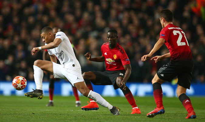 Mbappé notó y fue uno de los mejores del partido/ Foto AP