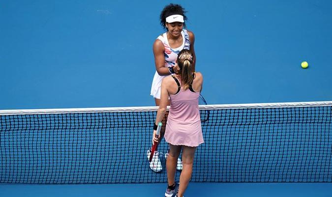 La nipona solo necesitó de dos sets para vencer/ Foto EFE