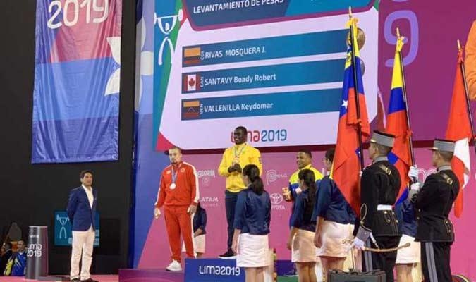El venezolano estuvo en el podio / Foto: Cortesía