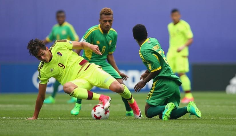 Peña estuvo muy activo en ataque /Foto FIFA