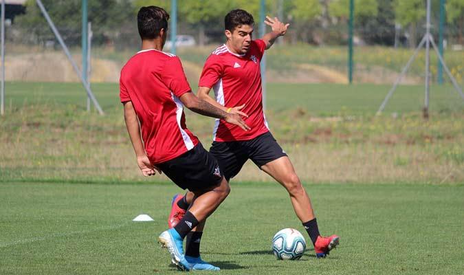 El venezolano ya entrena en el club / Foto: CD Mirandés