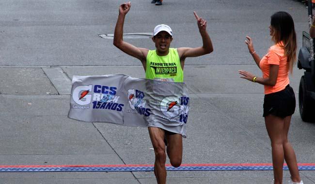 Didimo Sánchez fue el vencedor de la rama masculina/Alberto Torres