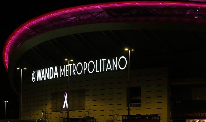 El Wanda Metropolitano también respaldó