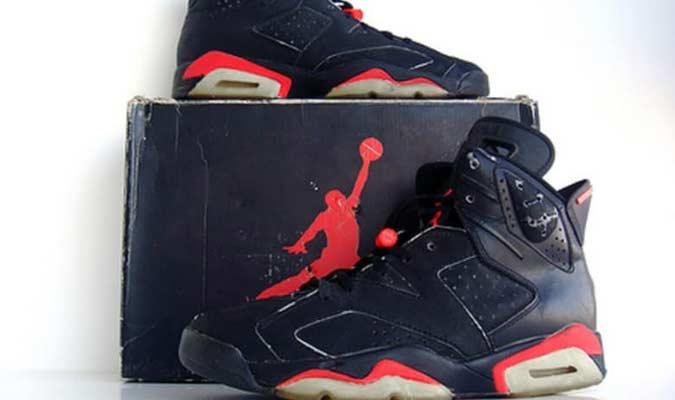 1991 Air Jordan VI - Michael Jordan