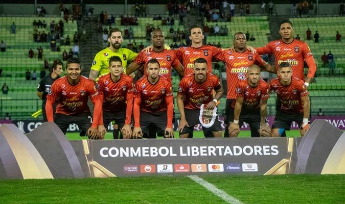Este fue el 11 inicial del Caracas/ Prensa Caracas FC
