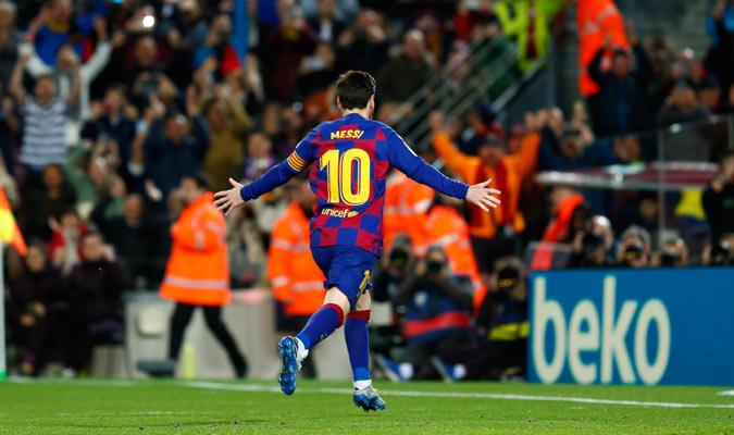 El argentino celebra su gol/ Foto AP