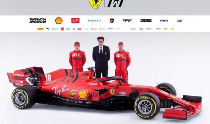 La temporada 2020 será una de grandes retos para Ferrari/ Foto FERRARI PRESS OFFICE AFP
