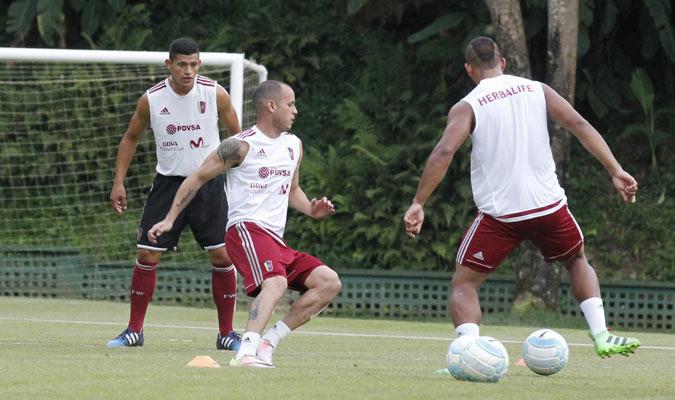 Alejandro Guerra se incorporó a la selección nacional   Foto Alberto Torres
