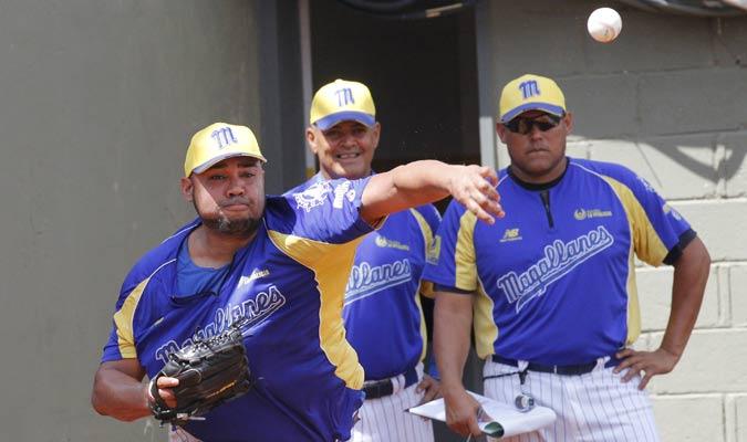 Entrenamientos del equipo Magallanes