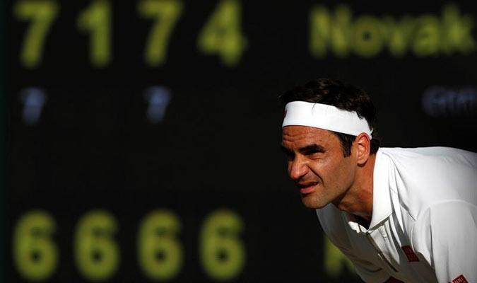 El suizo no pudo alzar su noveno título de Wimbledon / Foto: EFE