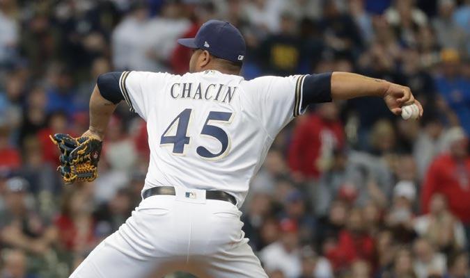 Chacín tuvo una gran actuación desde la lomita/ Foto AP