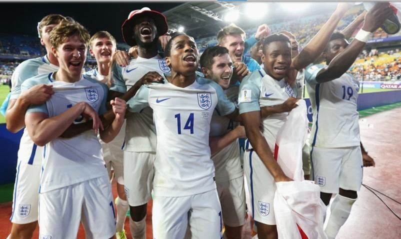 Inglaterra celebró a lo grande /Foto FIFA