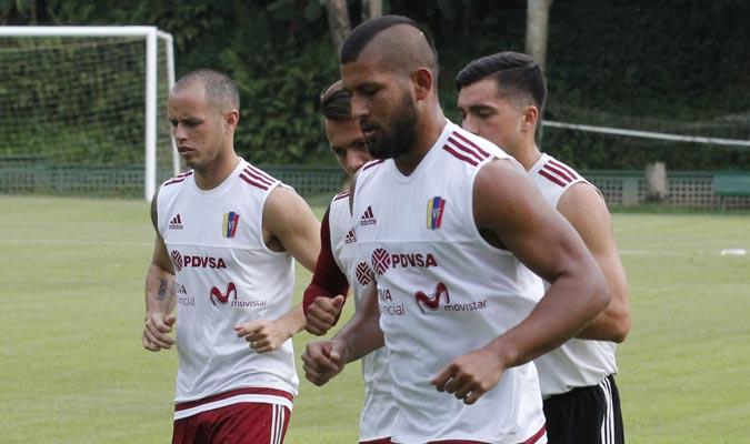 Selección mayor y Sub 20 trabajaron hoy Sábado en el Cocodrilos Sprot Club | Foto Alberto Torres