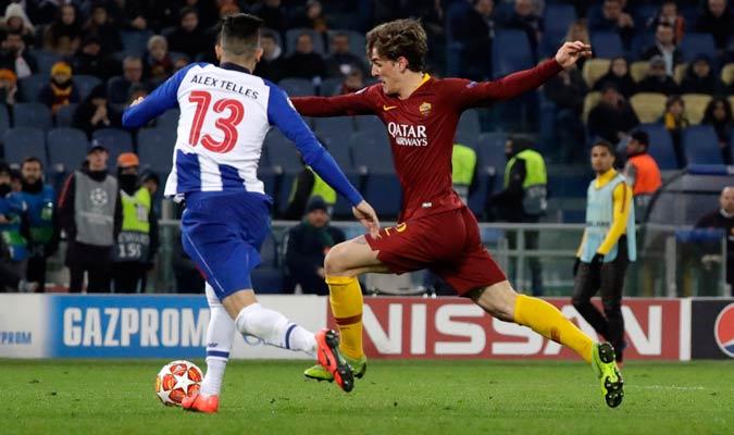 Zaniolo marcó de derecha el primer tanto del partido/ Foto AP