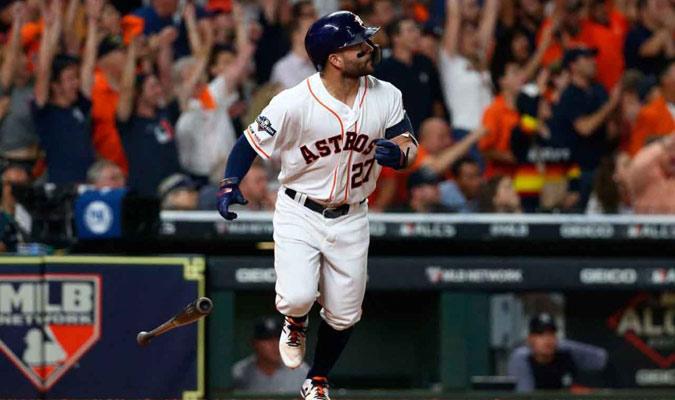 17- José Altuve (Astros de Houston)/ Foto Cortesía