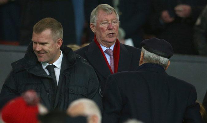 Ferguson fue un aficionado más en Old Trafford/ Foto AP