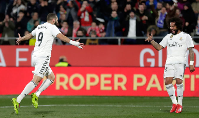 Benzema fue la estrella del partida/ Foto AP