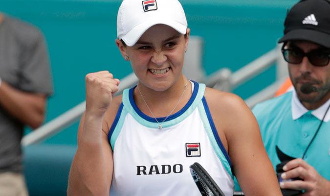 Barty, con el triunfo, entrará por primera vez entre las 10 primera del mundo/ Foto AP