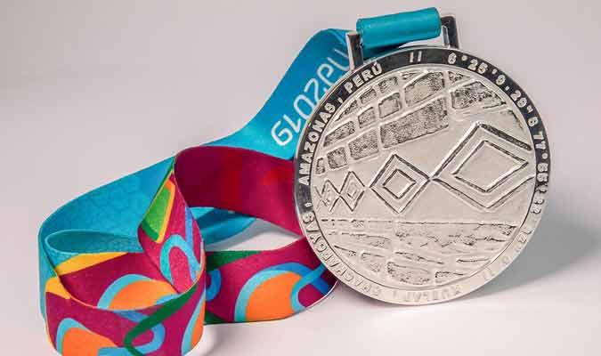 Medalla de plata / Foto: coarg