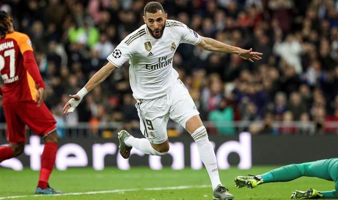 Benzema fue el encargado de hacer el cuarto gol/ Foto EFE