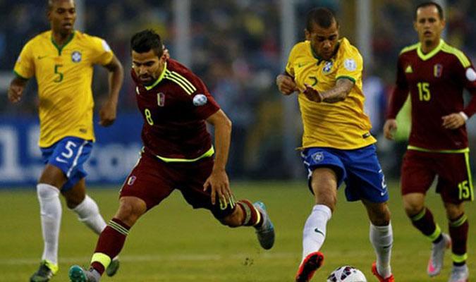 La Vinotinto fue la cuarta victima del Brasil de Tite que ganó en el Metropolitano de Mérida