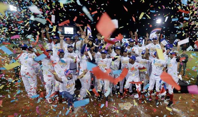 Los Toros festejaron por todo lo alto el título/ Foto AP