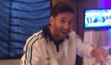 Esta fue la cara de Messi cuando Gabriel Jesús dijo que era robo