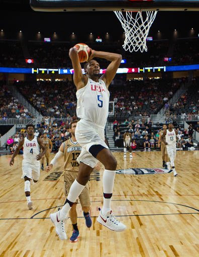 Durant fue el máximo anotador del encuentro /Foto AP
