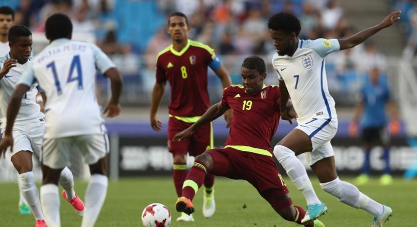 Los criollos entregaron todo en la cancha /Foto FIFA
