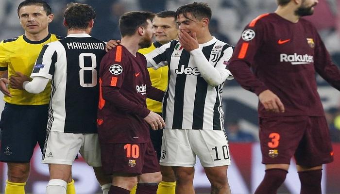 Messi y Dybala se saludan | Foto: AP