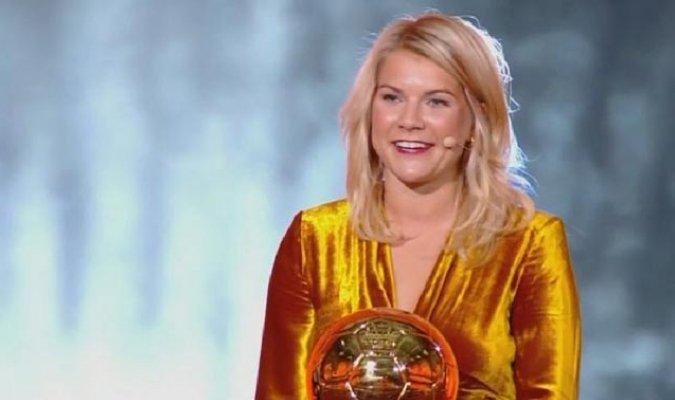 Ada Hegerberd (Balón de Oro Femenino, Primera en conquistar el galardón)