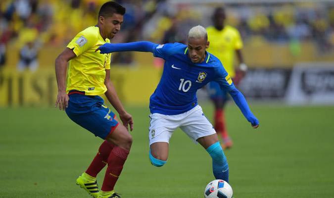 Neymar comandó la primera victoria de Brasil en el debut de Tite en Eliminatorias fue 0-3 en Quito
