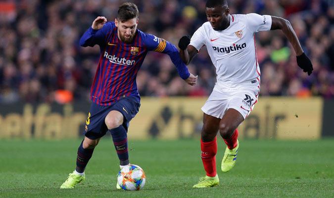 Messi dirigió la victoria del Barça/ Foto AP