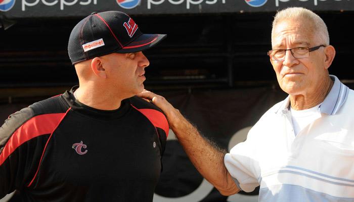 Domingo Carrasquel nunca dejó de dar buenos consejos al equipo crepuscular