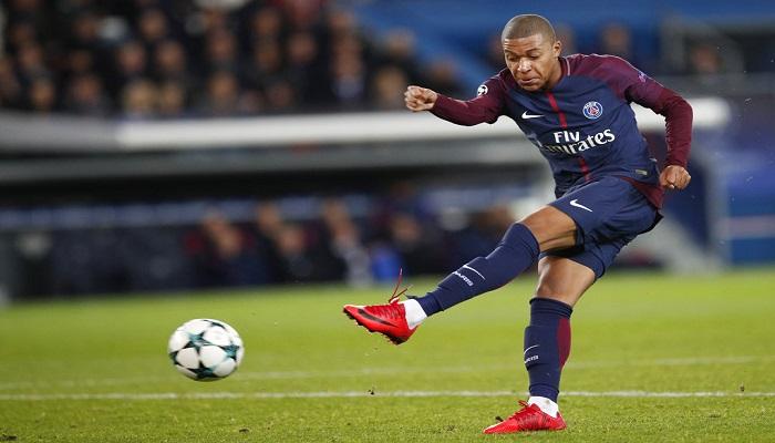 Mbappé marcó en París | Foto: AP