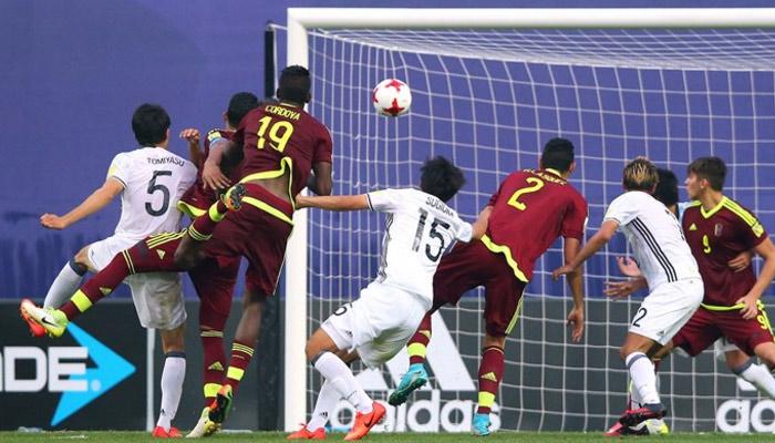El cabezazo que puso a la Vinotinto en cuartos de final /Foto FIFA