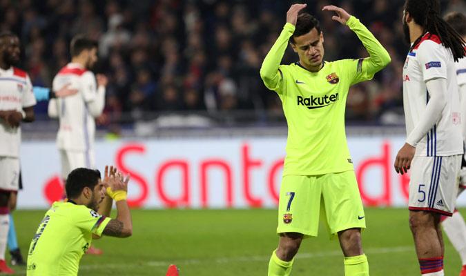 Coutinho ingresó en al segunda parte/ Foto AP