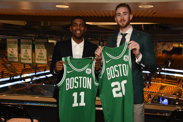 Boston espera llegar a la final con Hayward e Irving /Foto Celtics