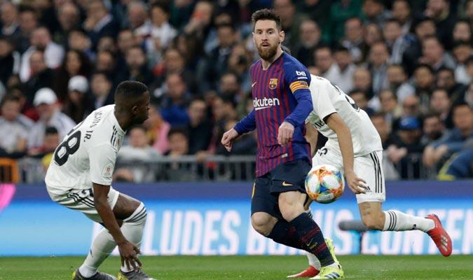 Messi no influyó mucho en el partido/ Foto AP